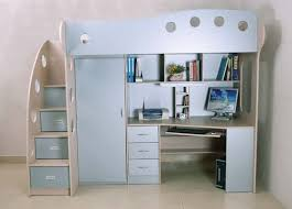 Bunk Bed With Study And Storage Unit United Interiors Mumbai - Study bunk bed