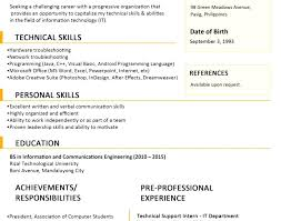 1 page resume exles one page resume templates one page resume template inspirational 1