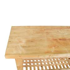 72 off ikea ikea butcher u0027s block table tables