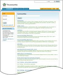 options for developing a web based forum on patient registries