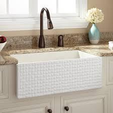 apron white sink signature hardware