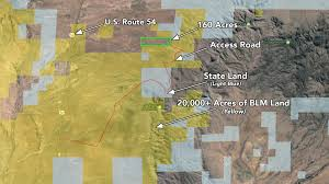 Blm Maps New Mexico by 160 Acres Adjoining Over 20 000 Acres Of Blm Land