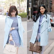 light blue trench coat 86 off burberry jackets coats beautiful classy baby blue trench