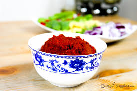thai red curry paste vegan vegetarian by crazy4veggie com