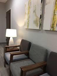 Modern Office Waiting Chairs Alexis Pearl Design Texas Vascular Associates Modern Doctors