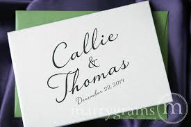 personalized cards wedding custom wedding stationery name date thank you card diagonal