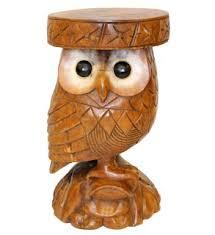 Owl Table L Owl Table Mango Hardwood