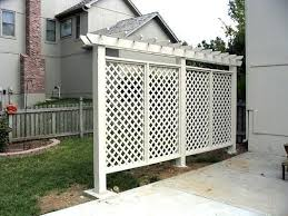 creative ideas for privacy screen in your yard