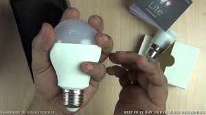 Cheapest Place To Buy Led Light Bulbs by Cube26 Iota Lite Smart Bulb Unboxing And Hands On Review Youtube