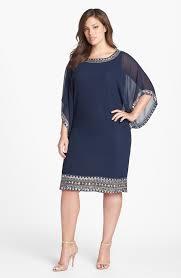 j kara embellished chiffon dress plus size cocktail dresses