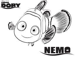 free disney printables coloring pages disney u0027s finding dory nemo coloring page colorear pinterest