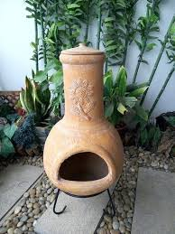 Chiminea Outdoor Fireplace Clay - ceramic outdoor fireplace ceramic fire pit diy design and ideas