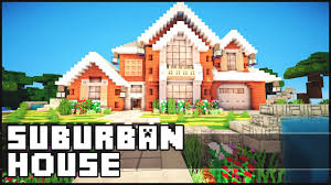 World Of Keralis Map by Minecraft Suburban House Youtube