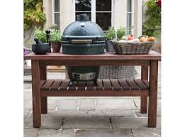 large green egg table big green egg product range toad hall garden centre