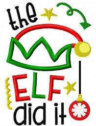 christmas applique the did it saying christmas appliqué embroidery design santa