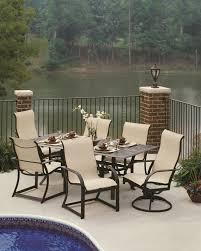 cast aluminum sling patio furniture patio designs
