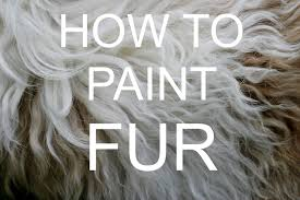 how to paint fur acrylic tutorial bigartquest 18 youtube