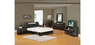 madison bedroom set madison bedroom set in black zebrano finish by global