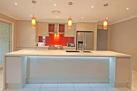 Bench Lighting Led Strip Lighting Brisbane Kitchen Renovations