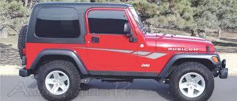 jeep wrangler graphics jeep wrangler octane universal fit vinyl decal graphic stripes