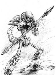 skeleton creature thingy sketch by matiassoto on deviantart