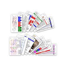 complete set for ems paramedic emt vertical badge cards 13 cards