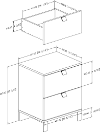 standard height of side table table designs