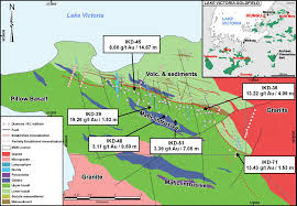 Lake Victoria Map Tanzania Minerals Corp Letter Of Intent With Mdn Inc For 50