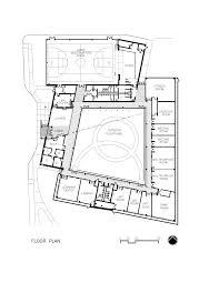 fitness center floor plan design levy senior and community center ross barney architects