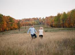 photographers wi fall wisconsin engagement on emily dave the mccartneys