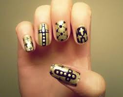 nail art brush designs how you can do it at home pictures