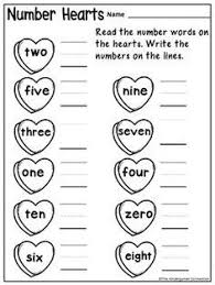 free winter number writing worksheet write the missing numbers on