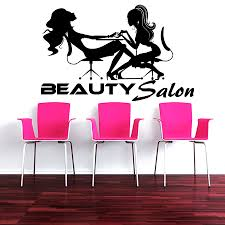 online buy wholesale sexy wall mural from china sexy wall mural pretty salon series art wall sticker barbershop two woman silhouettes special wall murals home sexy modern