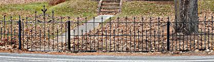 victorian garden walls wrought iron victorian garden gate u0026 picket fence restoration