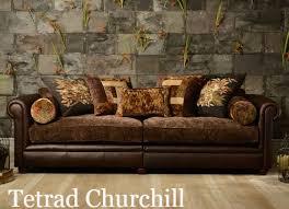 Leather Fabric For Sofa Englishmans Castle Leather Fabric Mix Sofas Leather And Fabric