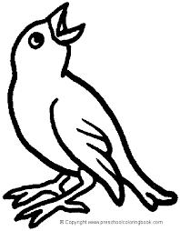 bird coloring page www preschoolcoloringbook com bird coloring page