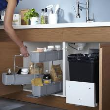 rangement sous evier cuisine rangement evier cuisine meuble bas cuisine 120 5 sous evier