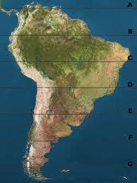 south america map equator my geography class greenberg