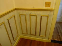 Wood Floor Paneling Decorating Interesting Wainscoting Panels With Wood Tile Flooring