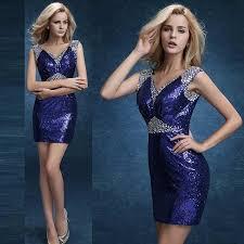 blue sequin bridesmaid dress 2016 sequin prom dresses evening wear blue sequin bridesmaid