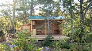 Lake Superior Cottages by An Incredible Sustainable Art Project By Andrew Ranville Rabbit