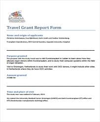 6 grant report templates free word pdf format download free