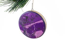recycled skateboard ornament