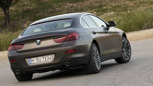 matte grey bmw 2013 bmw 6 series gran coupe 640d matte rear hd wallpaper 67