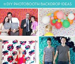 Photo Booth Ideas Roundup 11 Diy Ideas For Photobooth Backdrops Curbly