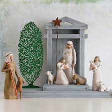 home interiors nativity set amazon com willow tree nativity 6 piece set of figures by susan