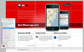 Best Website Color Schemes by Free Web Template For Iphone App Appstemplates