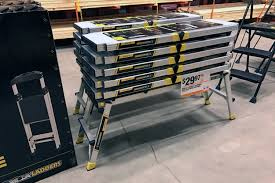 home depot black friday contest gorilla ladders slim fold work platform only 29 97 at the home