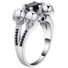 skull wedding ring sets jewelry rings skull wedding ringsskull rings for womenskull