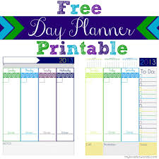 Daily Planners Templates Free Printable Planner Gameshacksfree